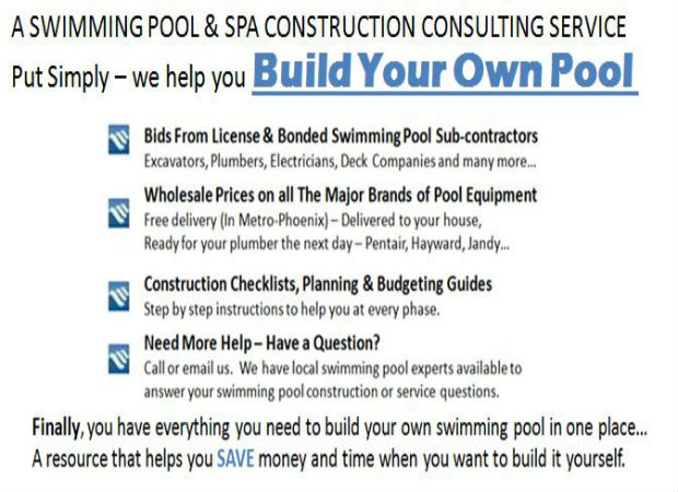 Build Your Own Pool Benefits